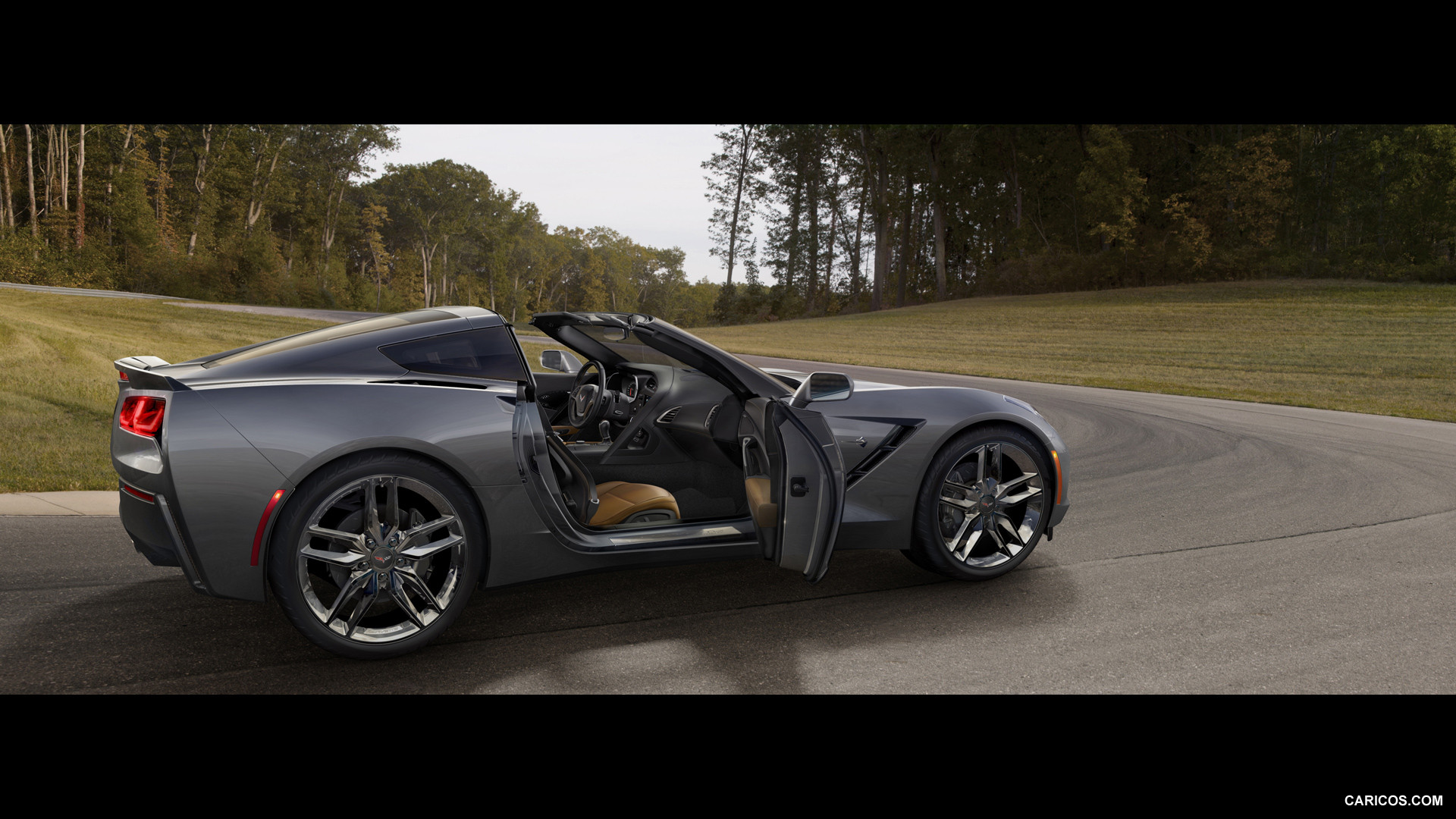 2014 corvette stingray black 2014 Chevrolet Corvette Stingray Convertible Black HD Wallpapers For