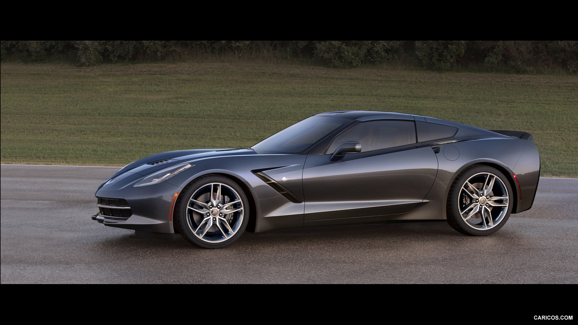 2014 corvette stingray black 2014 Chevrolet Corvette Stingray Black HD Wallpapers - WALLS-WORLD.COM