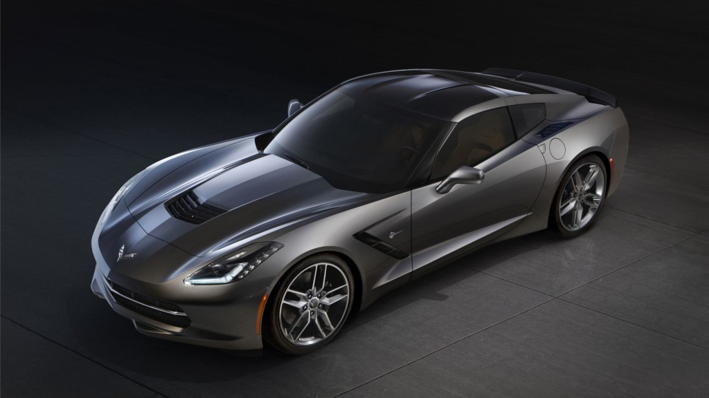 2014 corvette stingray black 2014 Chevrolet Corvette Stingray Black Wallpapers - WALLS-WORLD.COM