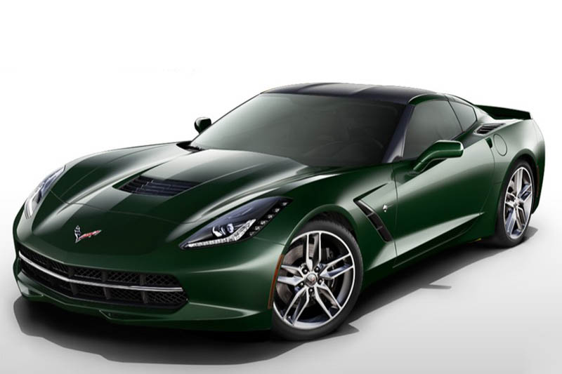 2014 corvette stingray black chrome wheels 2014 Corvette Stingray's Color Configurator Allows You to Play with