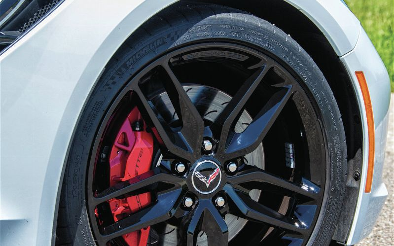 2014 Corvette Stingray Black Chrome Wheels