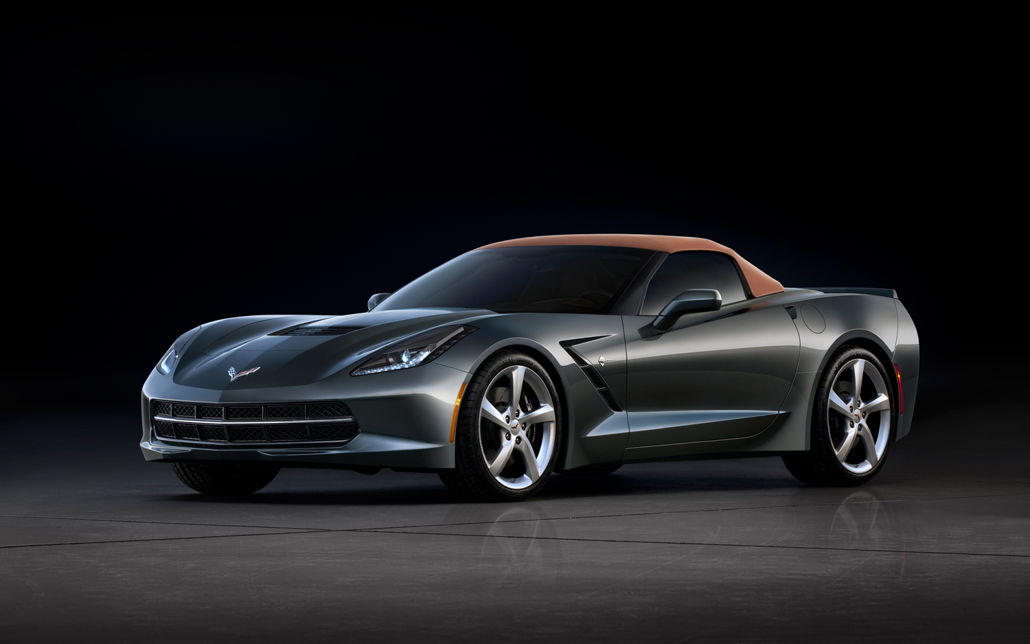 2014 corvette stingray black convertible 2014 Chevrolet Corvette Convertible Photo Gallery