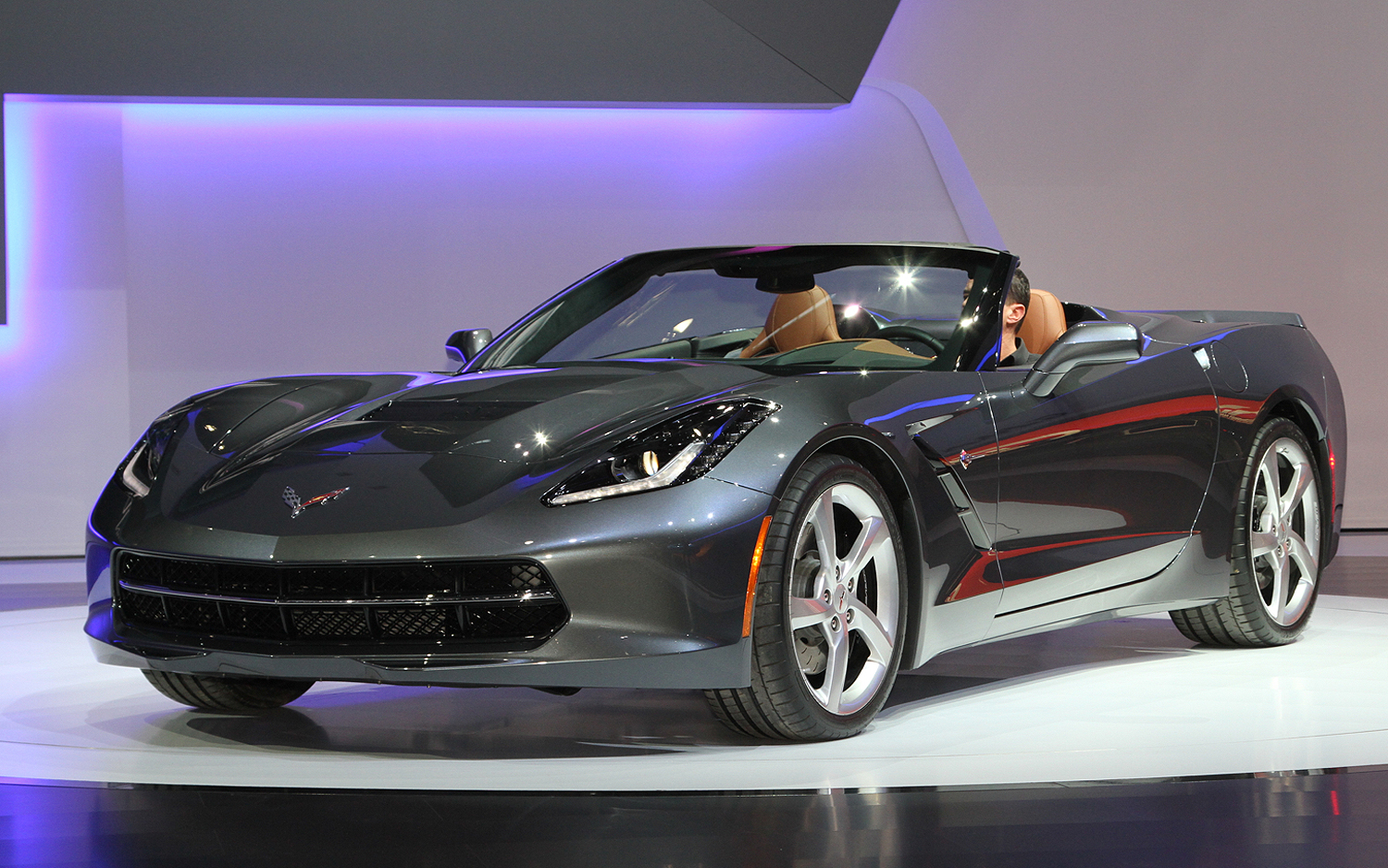 2014 Corvette Stingray Black Convertible