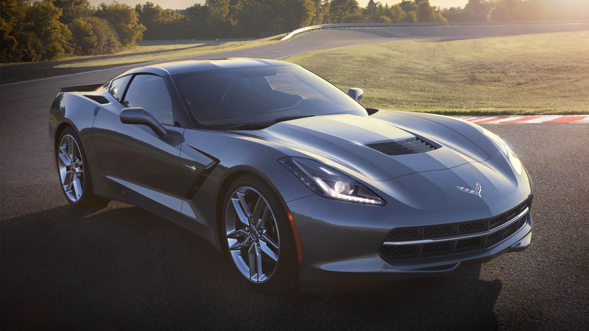 2014 corvette stingray black wallpaper 2014 Chevrolet Corvette C7 Stingray Black Wallpapers - WALLS-WORLD.COM