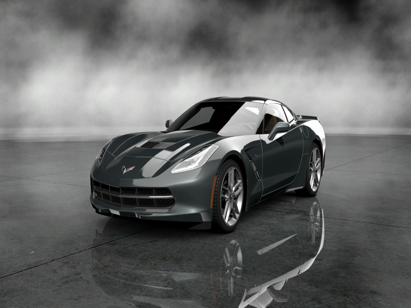 2014 corvette stingray black wallpaper 2014 Chevrolet Corvette Stingray Black HD Wallpaper 2014 Chevrolet