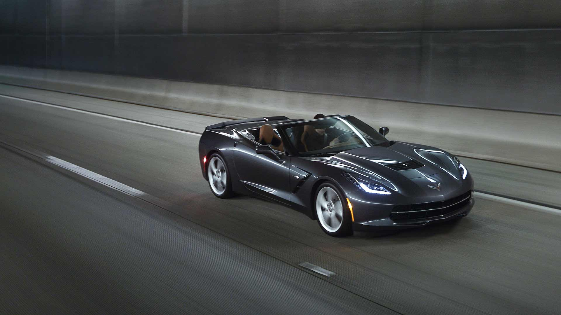 2014 corvette stingray black wallpaper  Name : 2014 Chevrolet Corvette Stingray Convertible Black HD Wallpaper