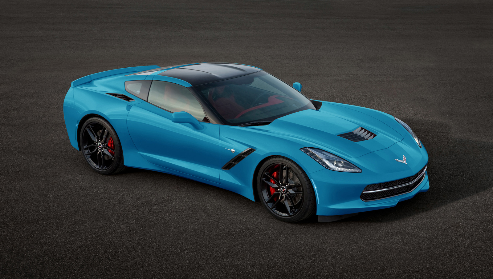 2014 corvette stingray blue Chevrolet Launches 2014 Corvette Stingray Online Configurator - Click