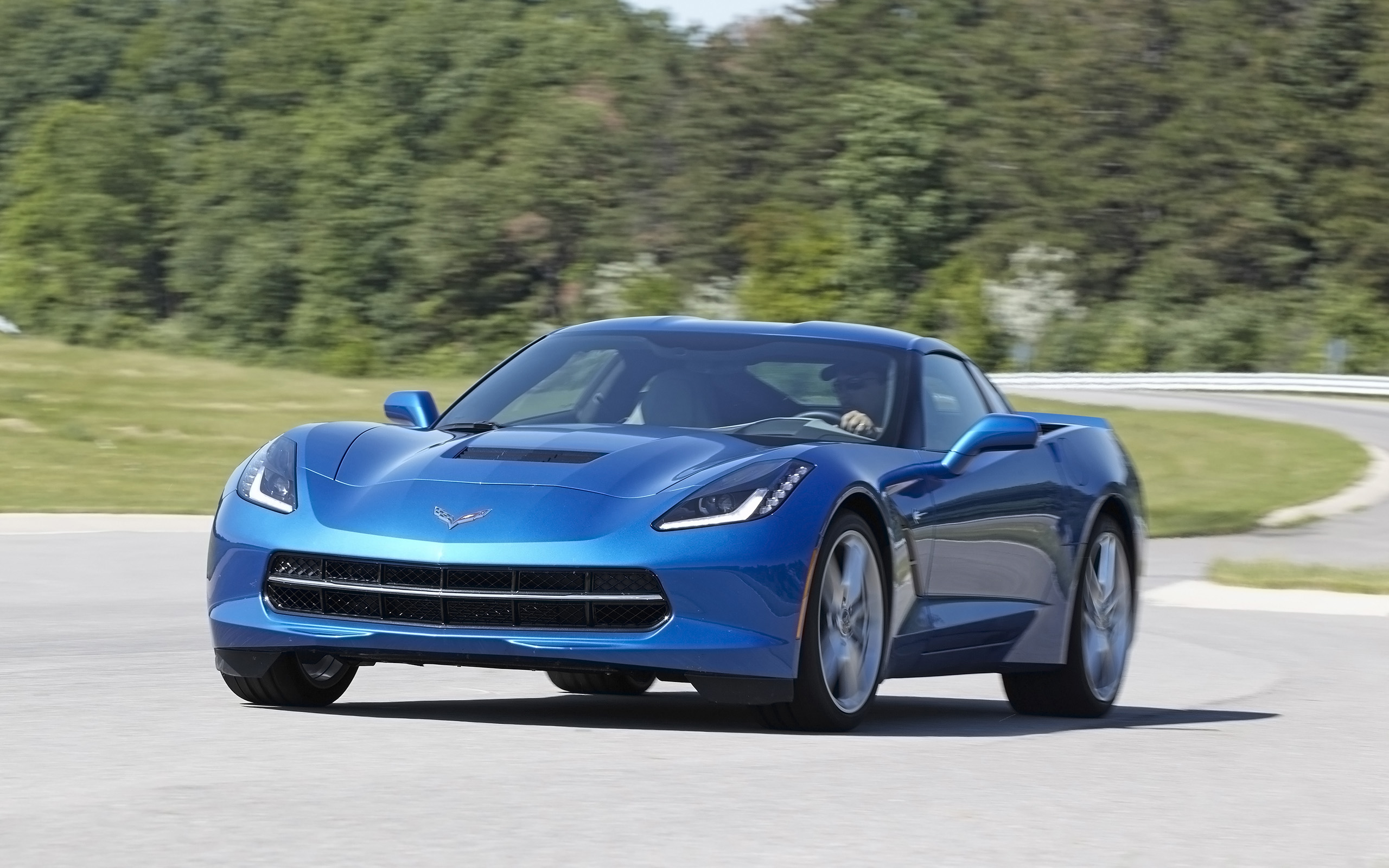 2014 corvette stingray blue 2014 Chevrolet Corvette Stingray Z51 - Blue - 5 - 2560x1600