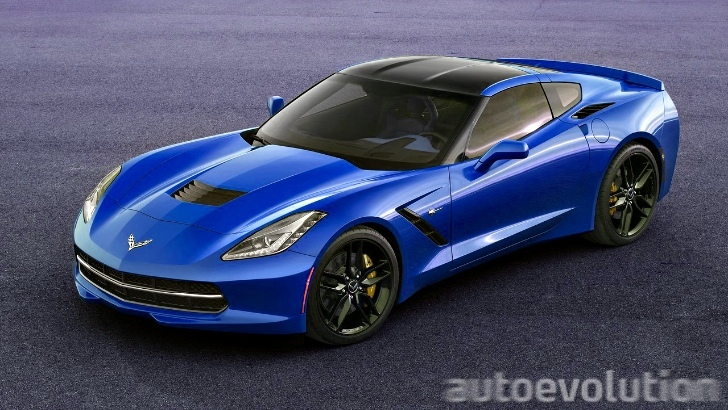 2014 corvette stingray blue 2014 Corvette C7 Stingray Looks Great in Blue