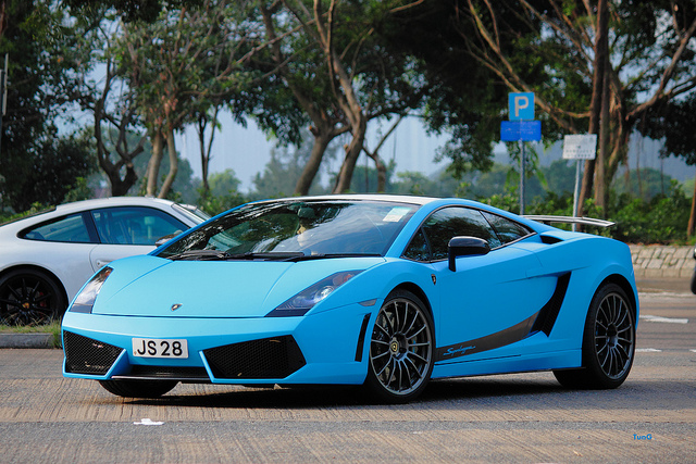 blue lamborghini gallardo superleggera Lamborghini Gallardo Superleggera , Tai Mei Tuk , Hong Kong | Flickr