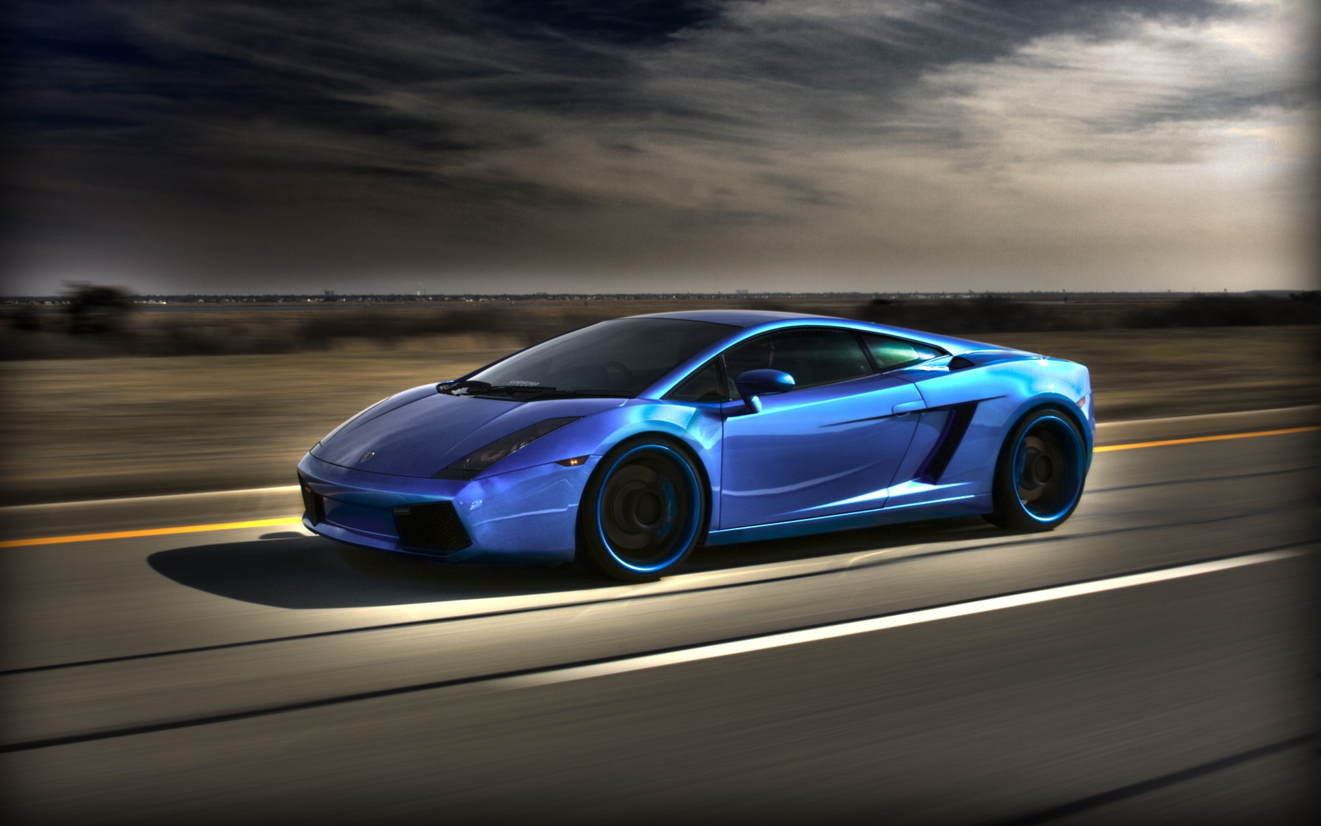 blue lamborghini gallardo wallpaper Lamborghini Gallardo Blue Wallpapers | HD Wallpapers