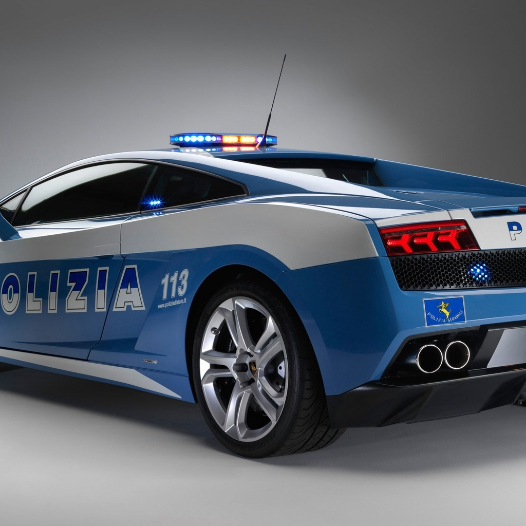 blue lamborghini gallardo wallpaper FREE Blue Cop Convertable Lamborghini Gallardo HD iPad Wallpaper