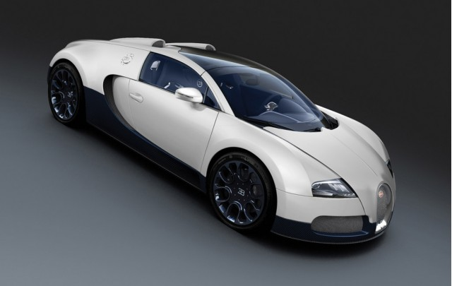 bugatti veyron super sport black and white Bugatti Veyron Super Sport Black Carbon And Grand Sport Matte White