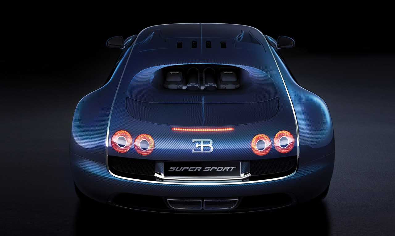 Like A Car: Unrealistically Fast Car Blue Bugatti Veyron Super Sport