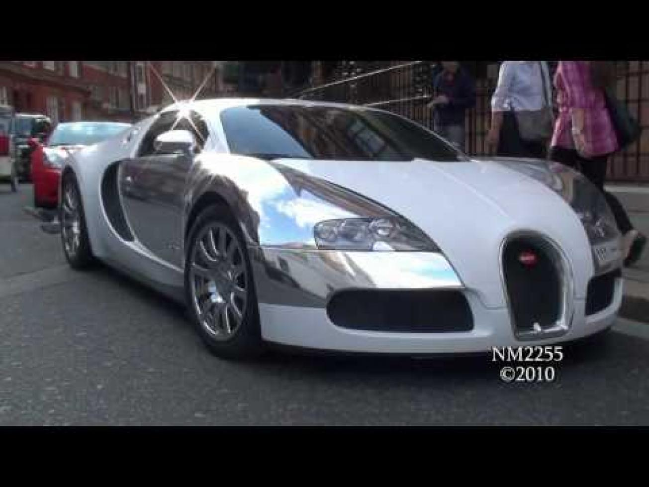 Bugatti Veyron Super Sport Chrome - Engine Information Bugatti 2014 Chrome