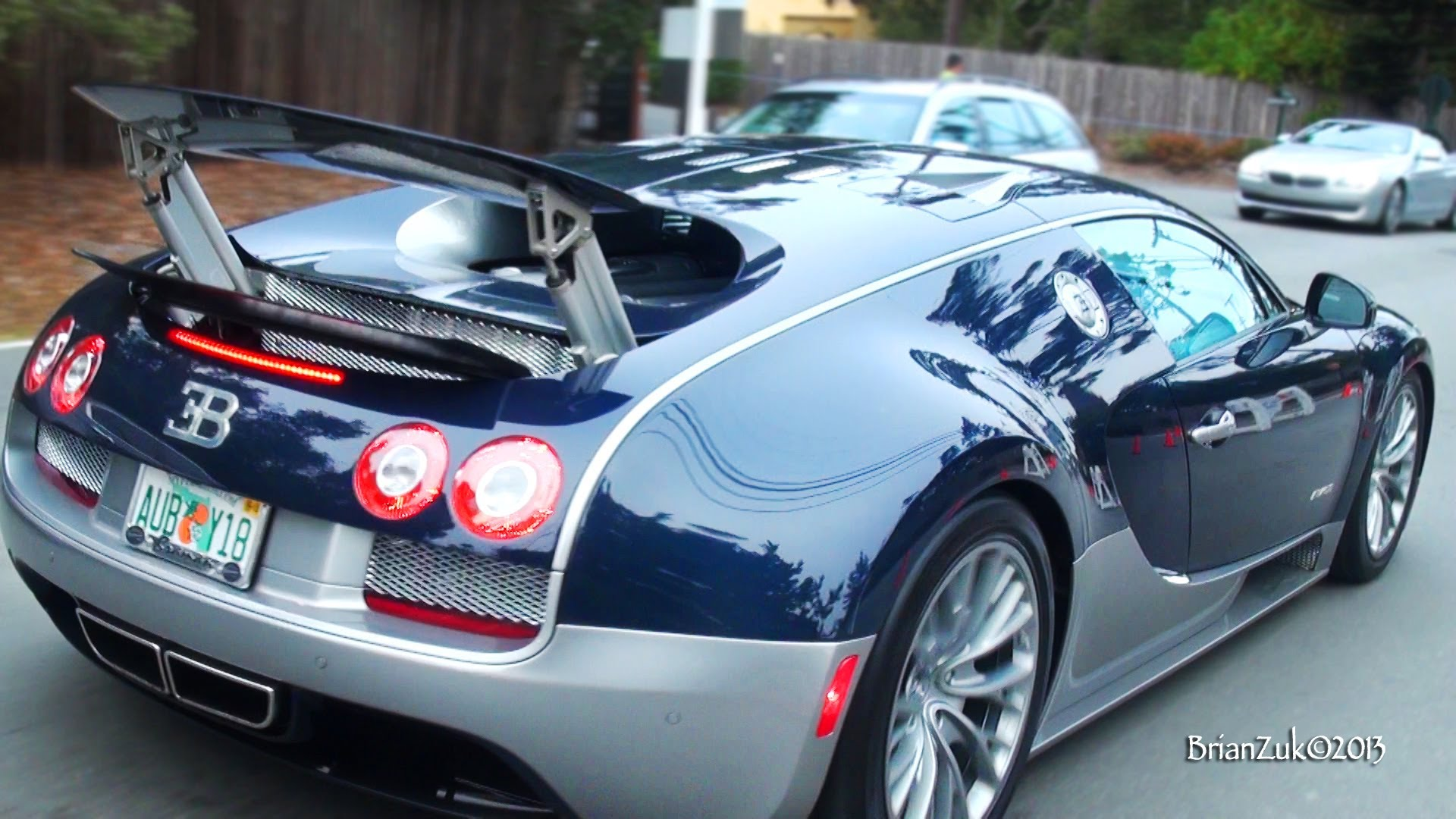 Bugatti Veyron Super Sport Blue Chrome Bugatti 2014 Chrome