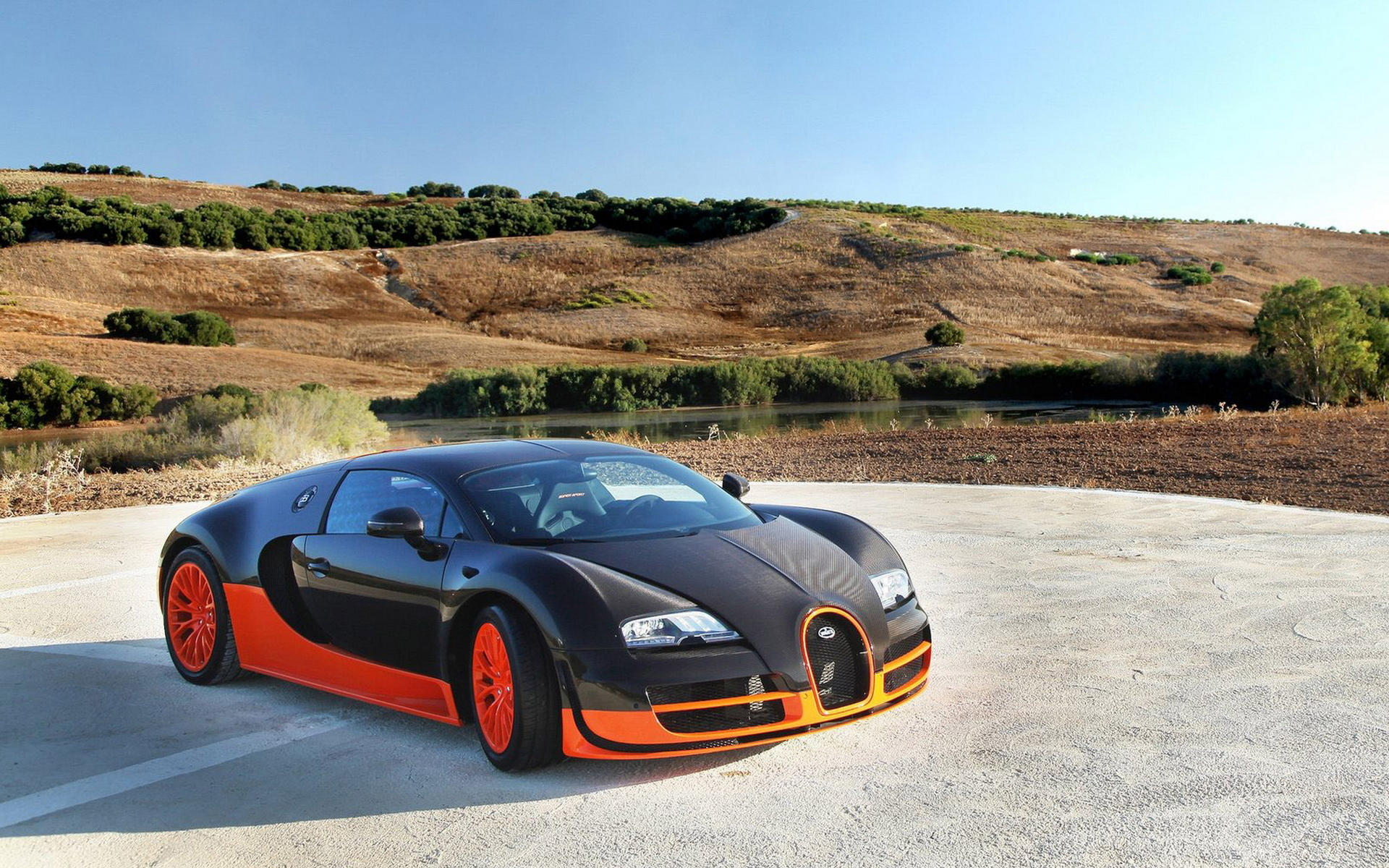Blue Bugatti Veyron Super Sport Wallpaper: Bugatti Veyron Super Sport Wallpaper X Plpozzd
