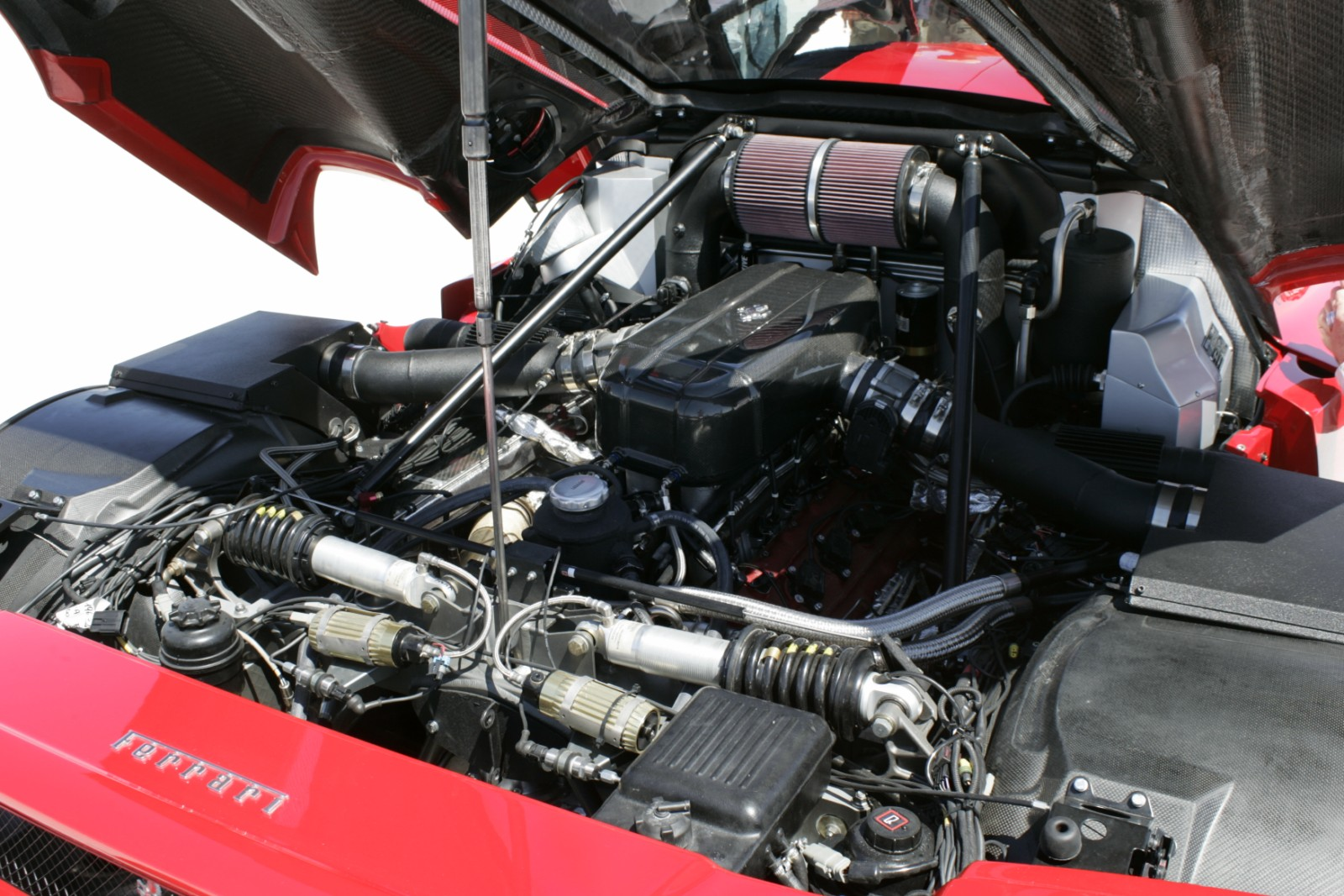 is a ferrari a hot rod maybe if its sporting twin turbos a roll cag x