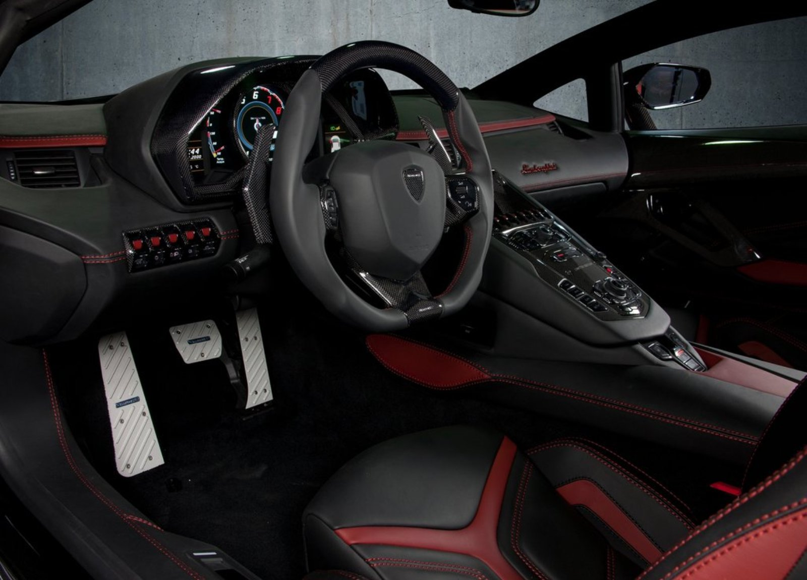 car picker lamborghini aventador interior images. Black Bedroom Furniture Sets. Home Design Ideas