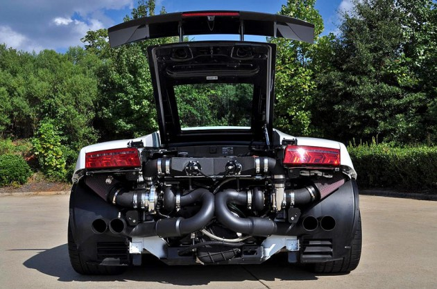 Lamborghini Gallardo Engine V12