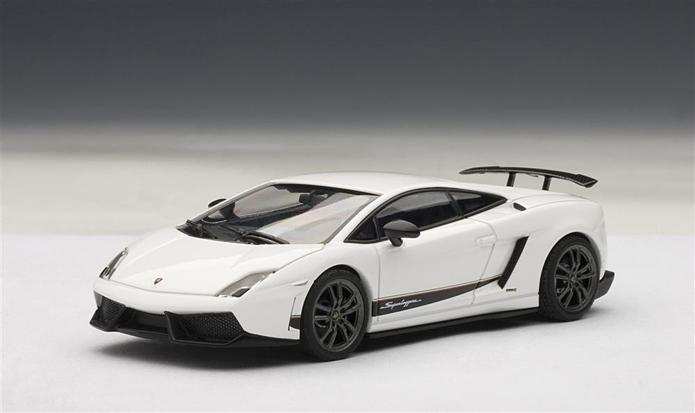 Autoart Lamborghini Gallardo Lp570 4 Superleggera White