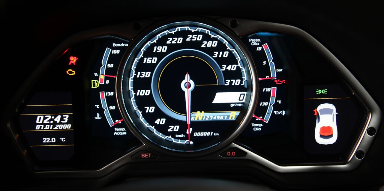 Parts Of A Car Speedometer