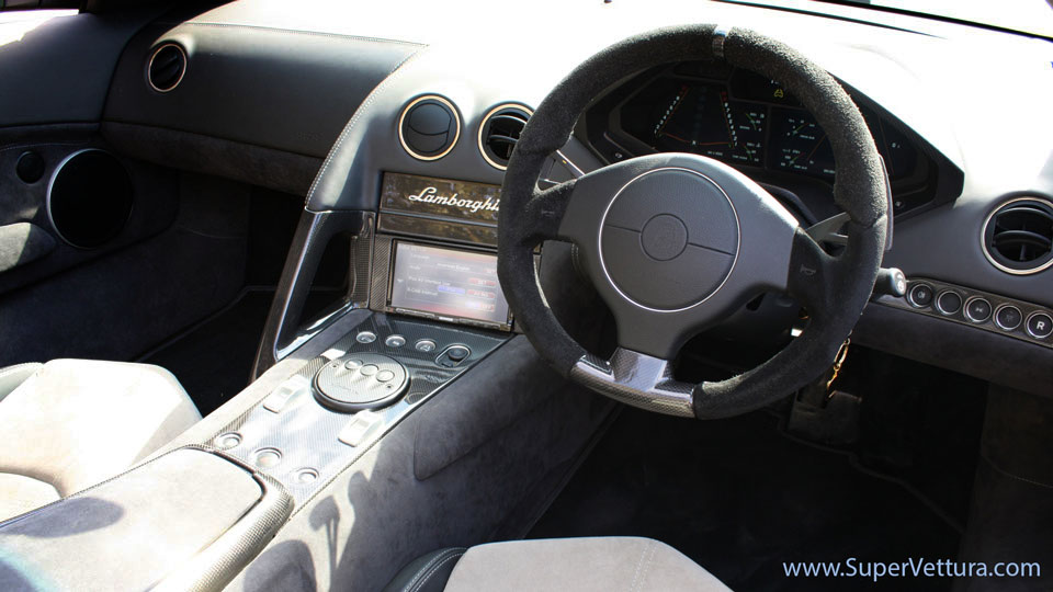 lamborghini reventon interior - photo #12
