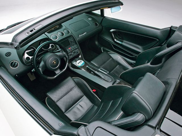2010 Lamborghini Revent N Roadster Interior Photo Engine Information