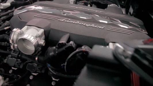 Lamborghini V10 Engine