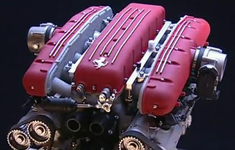 liter ferrari v engine