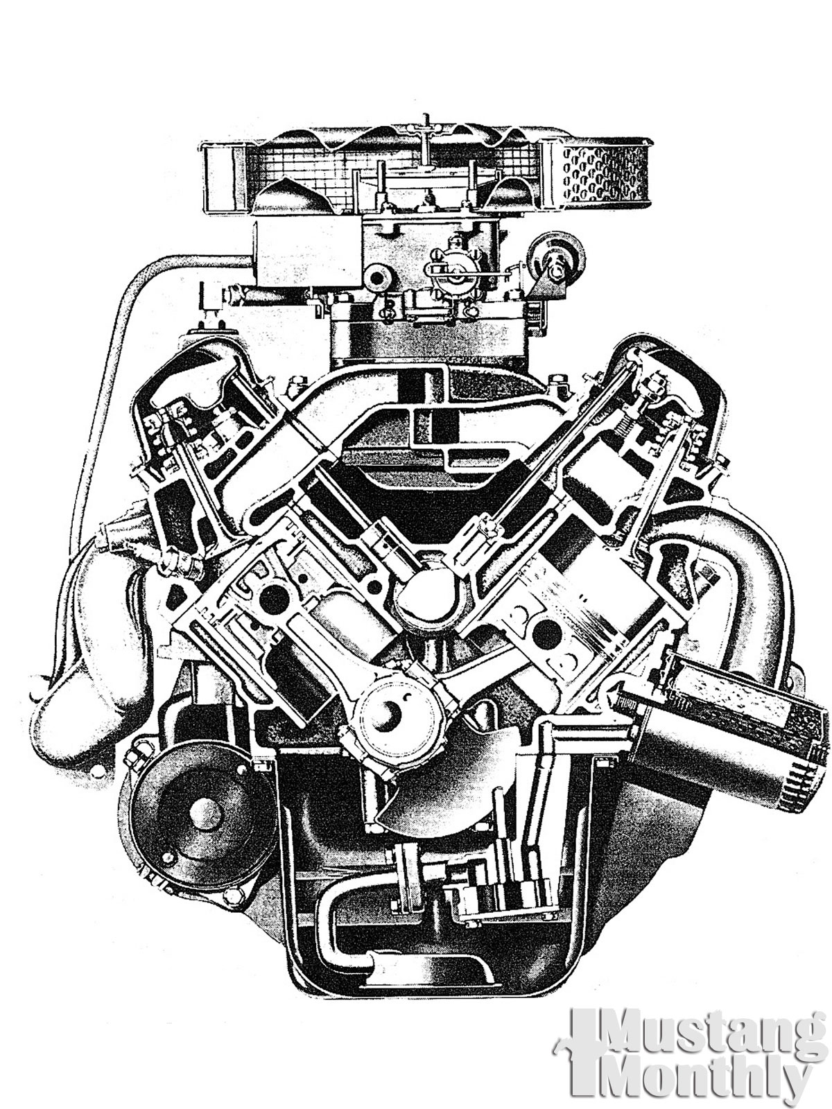 flathead ford engine drawing  flathead  free engine image