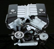 W16 Engine Block