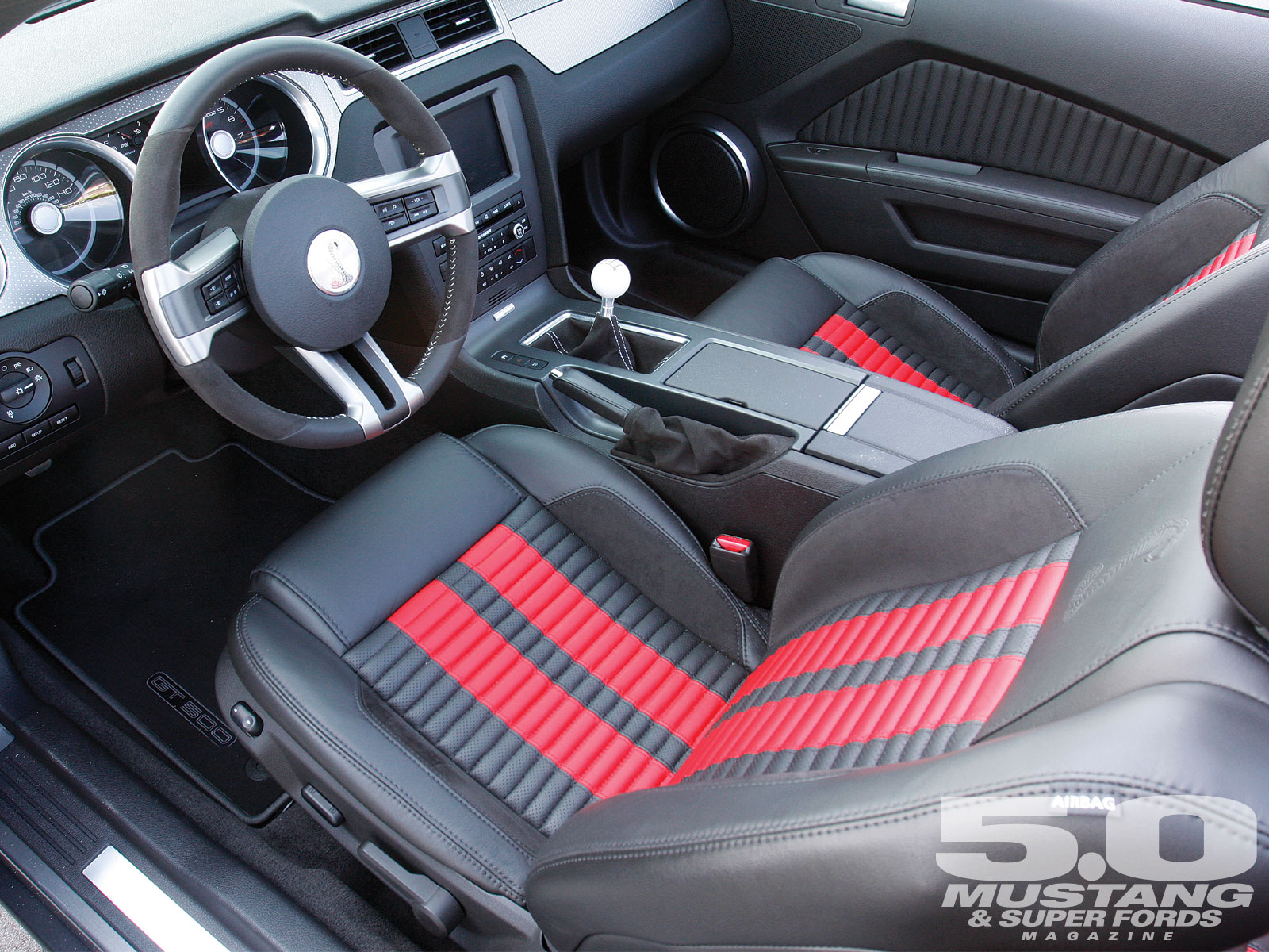 2011 Ford Mustang Gt Interior