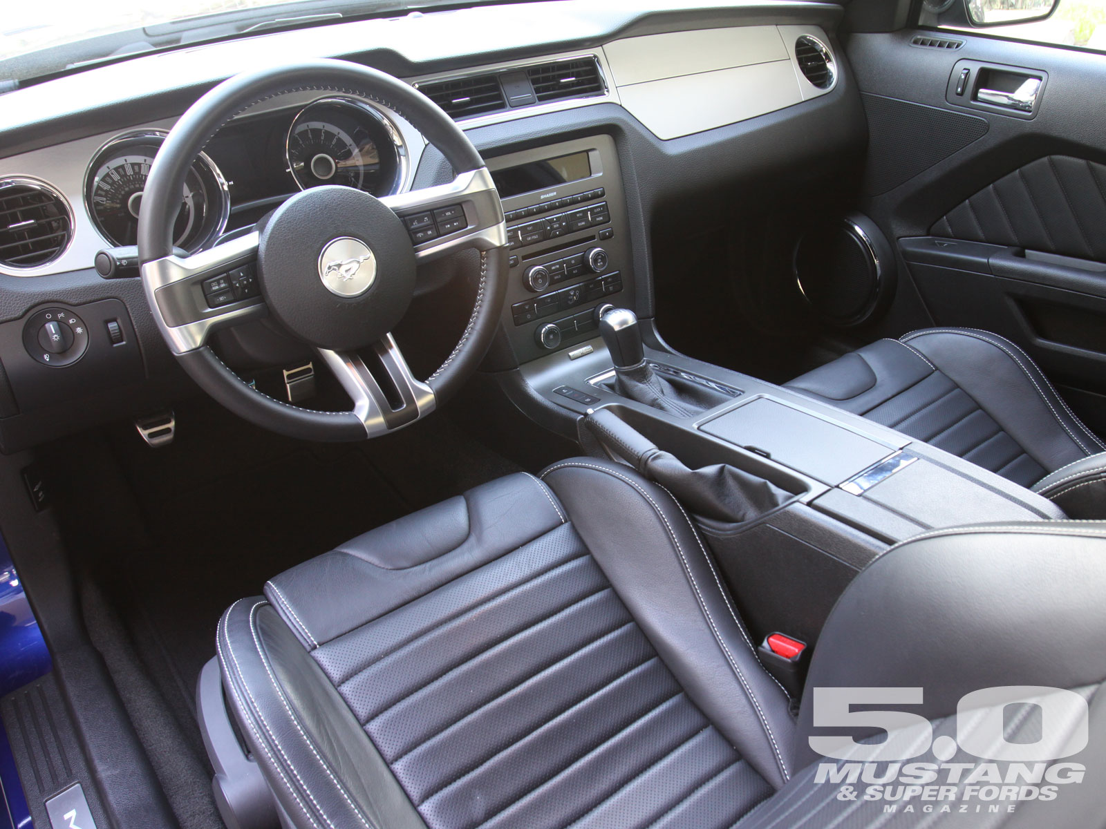 2013 Ford Mustang Gt Interior 7sm5ezwm Engine Information