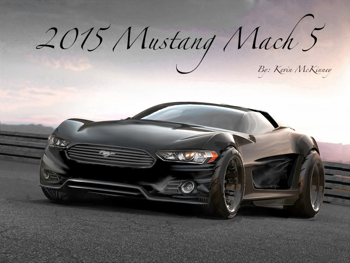2015 mustang mach 5 concept car engine information