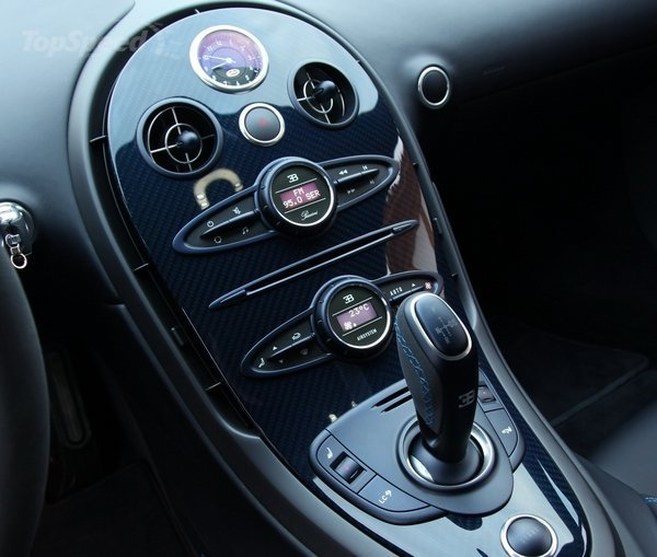 Bugatti Veyron Super Sport Speedometer - Engine Information