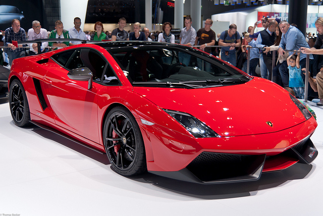 Lamborghini Gallardo Red And Black