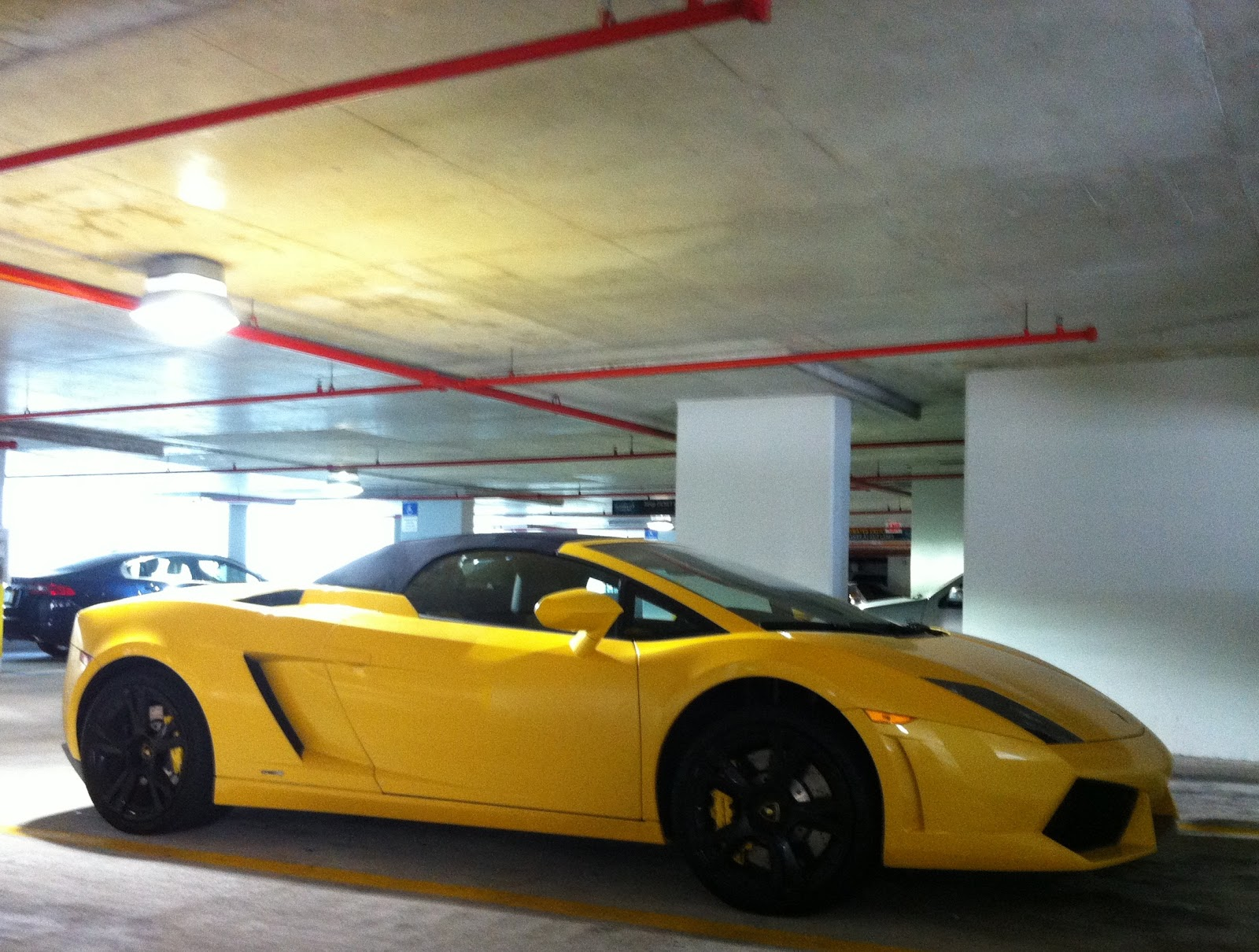 Lamborghini Gallardo Yellow And Black