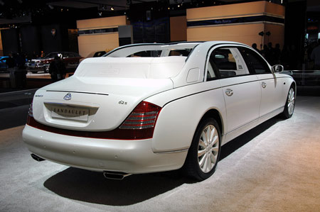 Maybach 62s Landaulet For Sale