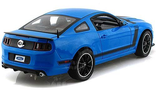 Mustang 2013 Blue And Black