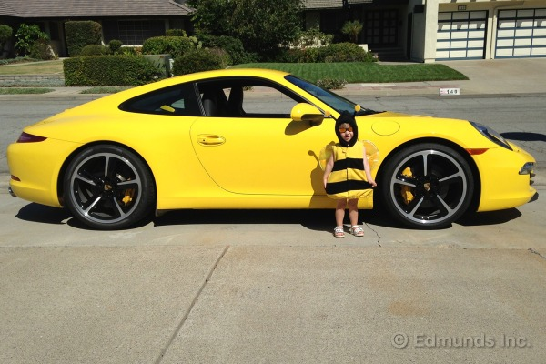 Porsche 911 Turbo Yellow New Moon Engine Information