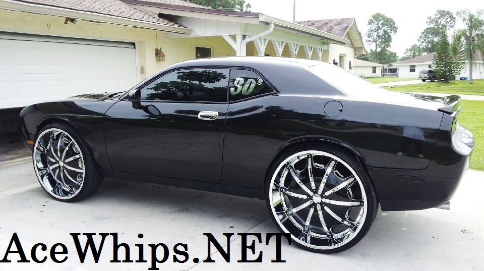 White Rims White Rims For Dodge Challenger