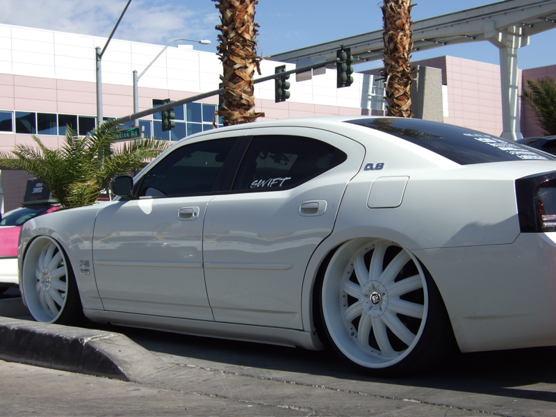 White Dodge Charger With Black Rims Tcfnul | Engine ...