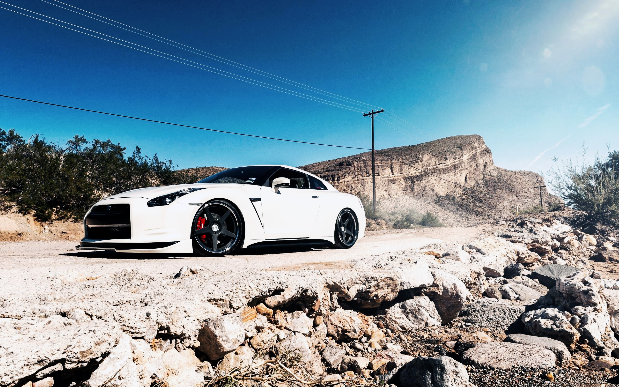 White Nissan Gtr Wallpaper Hd