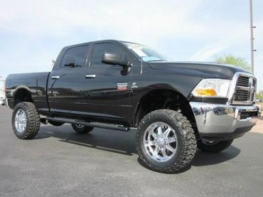 2001 Dodge Ram 1500 Lifted With Stacks