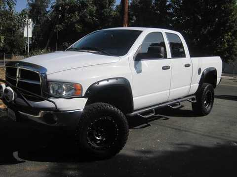 2005 Dodge Ram 1500 Lifted 2 Door