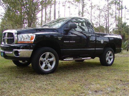2012 Dodge Ram 1500 2 Door Lifted